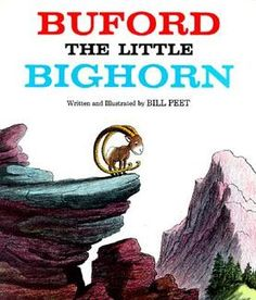 I love Bill Peet's illustrations and stories. One of my favorite authors as a child.