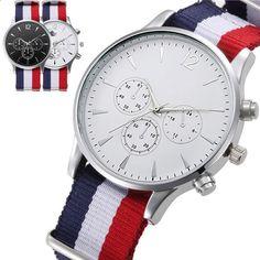 Гаряча мода креативна обмежена просування часу 2018 гаряча продажа годинник  жіночі розкішні модні холсти чоловічі аналоговий 66739fd32355f