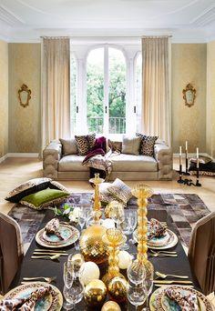 La collection Roberto Cavalli Home au Salon du meuble à Milan