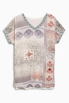 Buy Embellished Print T-Shirt online today at Next: Canada