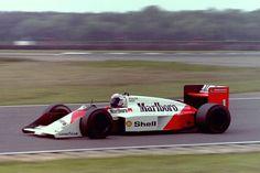 Alain Prost, McLaren MP4/3 - Tag-Porsche TTE PO1 1.5 V6 (t/c - 4.0 Bar limited) (Great Britain Tyre Test 1987)