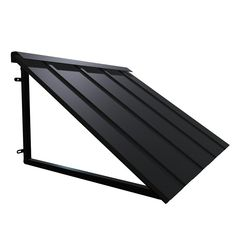 The HOUSTONIAN® metal standing seam awning is a Beauty-Mark® Brand by Awntech®. It is one of our most popular awnings. It adds loads of curb appeal. The HOUSTONIAN®, comes in four patinas (bronze, copper, iron, pewter). Metal Awnings For Windows, Outdoor Window Awnings, House Awnings, Aluminum Awnings, House Roof, House With Metal Roof, Aluminum Roofing, Metal Roof Houses, Patio Awnings
