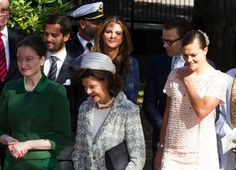 The British ambassador to Sweden hosts a memorial to the late Princess Lilian. 9/8/2013