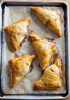 Pear Turnovers Recipe | Joanne Chang (Made with no refined sugar, these pear turnovers rely on dates instead for a subtle sweetness that goes perfectly with the pears and fall spices.)