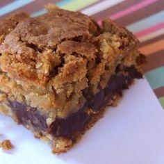 Deep Dish Oatmeal Chocolate Cookie Bars