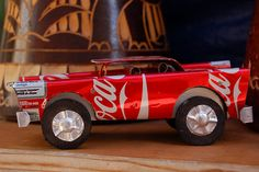Soda can art by ukanda, via Flickr