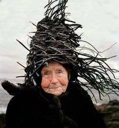 Eisbjornian twig hat, part of the national costume.