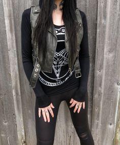 Black & White Pentagram Hoodie