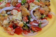 Salade de gâteau piments - Ile Maurice