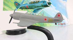 "DeAgostini YAK-11 Soviet trainer aircraft  mod & mag №30 ""LEGENDARY AIRCRAFT""   #DeAgostini"