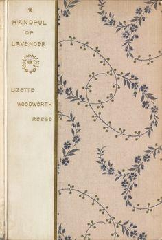 Vintage Garden Book | Lavender