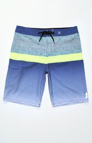 Phantom Blocked Flight Blue Boardshorts