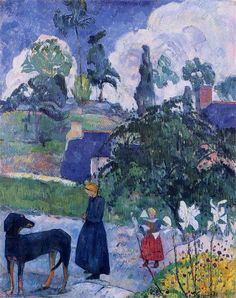 Paul Gauguin  Among the Lillies, 1893