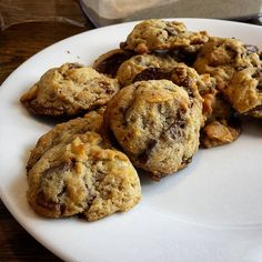 """""""Full of Secrets"""" Chocolate Chip Cookies"""