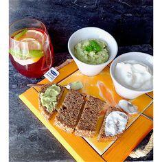 My Casual Brunch: Chá gelado de pêra e canela com limão e manjericão...