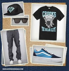 Swag Outfits For Men | Swag Outfits 04 - Rustic Dime, Crooks and Castles, Diamond Supply Co ...