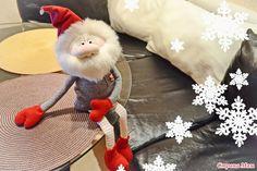 . Видео МК: шьем новогоднего гнома