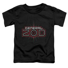 Superman: Zod Logo Toddler T-Shirt