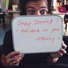And then people have the nerve to say Harry doesn't actually care about us