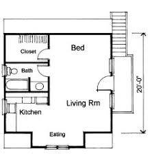 Guest apartment above garage floor plan. Hmmm...I wonder how hard ...