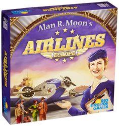 Rio Grande Games RGG444 Airlines Europe, Board Games - Amazon Canada