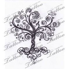 Learn more about >> Whimsical Tree of Life | swirly tree #13168 | CreateMyTattoo.com