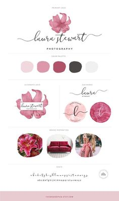 Watercolor flower logo design florist branding watercolor lily logo floral premade logo wedding photography business cards actor models dancer photo social media icons business card zazzle com Logo Floral, Design Floral, Flower Logo, Photography Business Cards, Photography Logo Design, Wedding Photography, Photography Packaging, Photography Flowers, Business Logo