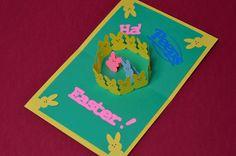 Easter Pop Up Card Peeps
