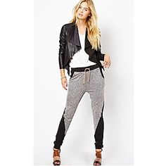 Women's Contrast Color Casual Pant - USD $ 16.19