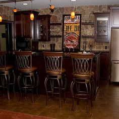 Mediterranean Home Bar Area Design, Pictures, Remodel, Decor and Ideas