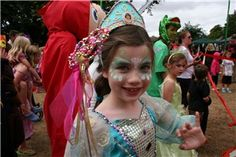 Camp Bestival 2010 - Fairytale fancy dress went down a storm with the little ones