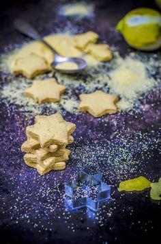 Biscotti di polenta e limone- Polenta and lemon cookies