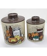 Set of Two Vintage Ransburg Nesting Canisters - $13.00