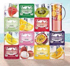 Mamy już dostawę KUSMI TEA a w niej specjalne smaki herbaty idealnie nadające się do przygotowania ICE TEA - czas przygotować się na upały. Na www.homeandfood.eu większy wybór smaków herbat KUSMI TEA oraz ceramiki i szkła -teraz w wakacyjnych promocyjnych cenach.