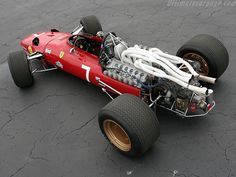 pinterest.com/fra411 #vintage #formula1 - 1967 Ferrari 312 F1