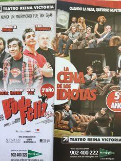 Tu eliges reírte o reírte...y sin salir de casa Teatro Reina Victoria de Madrid