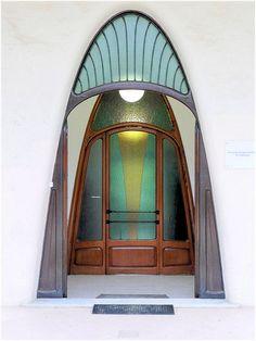 Spain. Terrassa. Architect Lluis Muncunill i Perellada. Masia Freixa-Parc de Sant Jordi