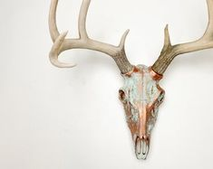 Shop for deer head wall mount on Etsy, the place to express your creativity through the buying and selling of handmade and vintage goods. Interior Design Help, Wall Mount, Deer, Moose Art, Etsy, Room, Bedroom, Wall Installation, Rooms