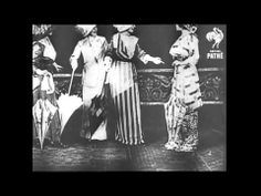Tight-Laced Corsets and Dresses - Real 1890s Fashion Footage. Wonderful fashion footage from the 1890s. Rare material showing the clothing at the time
