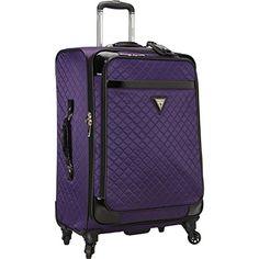 GUESS Travel Gleem 4-Wheel 24-Inch Spinner Upright (Purple) GUESS http://www.amazon.com/dp/B00HAALQME/ref=cm_sw_r_pi_dp_2pNzvb09G9A19