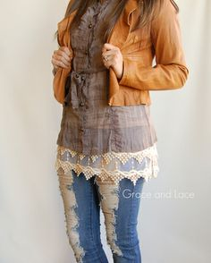 Top Extender by Grace & Lace #lace #fashion #chic