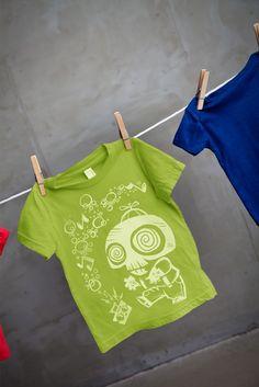 boys halloween zombie tshirt.