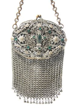 Vintage Flapper Purse. When you didn't need room for your iPhone obviously! Lipstick and powder purse.
