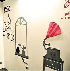 Your wall can converse, tick, and play!