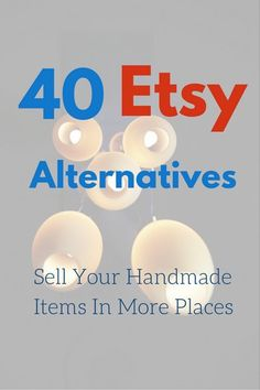 Where do you sell your handmade items?...  For most small independent handicraft makers, often the obvious choice is to set up shops at Etsy.  Granted, Etsy is easily one of the most successful marketplaces for indie crafts, …