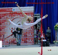 Olena DIACHENKO (Ukraine) ~ Ribbon @ World Challenge Cup Minsk 05-06/08/'17   Photographer Pawel S.