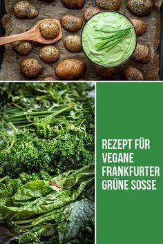 Vegane Frankfurter Grüne Soße