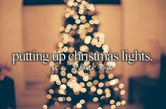 just girly things Christmas lights!