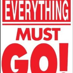 Everything must go! Spring cleaning and want everything gone Other