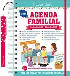 Amazon.fr - Agenda familial Mémoniak 2016-2017 - Collectif - Livres
